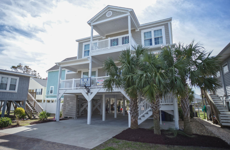 Rental exterior at Grand Strand Resort.