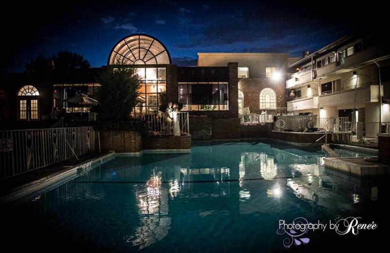Outdoor pool at Doolan's Shore Club.