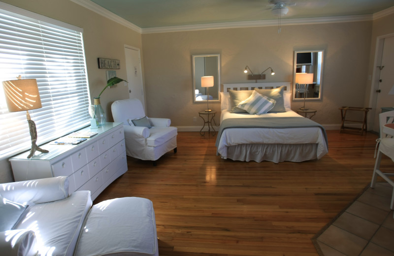 Guest room at Walkabout Beach Resort.