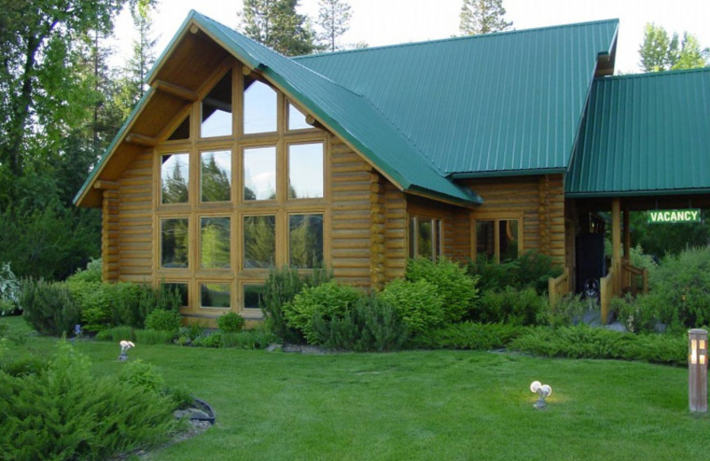 Snowberry center exterior at North Forty Resort.
