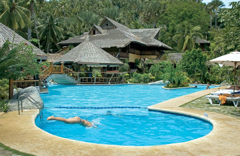 Outdoor pool at Coco Beach Island Resort.