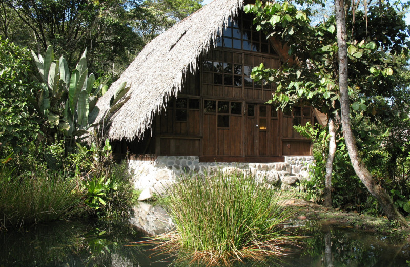 Exterior view of Cloudforest Ecolodge El Monte.
