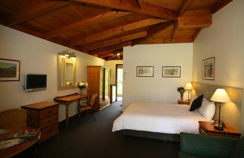 Guest room at Hunter Valley Resort.