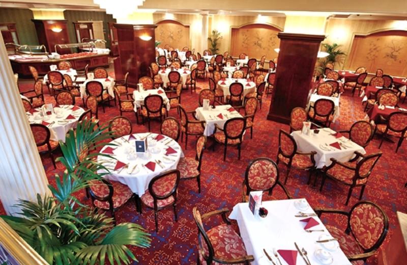 Dining at Regency Hotel.