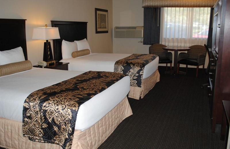 Guest room at Shilo Inn Pomona Diamond Bar.