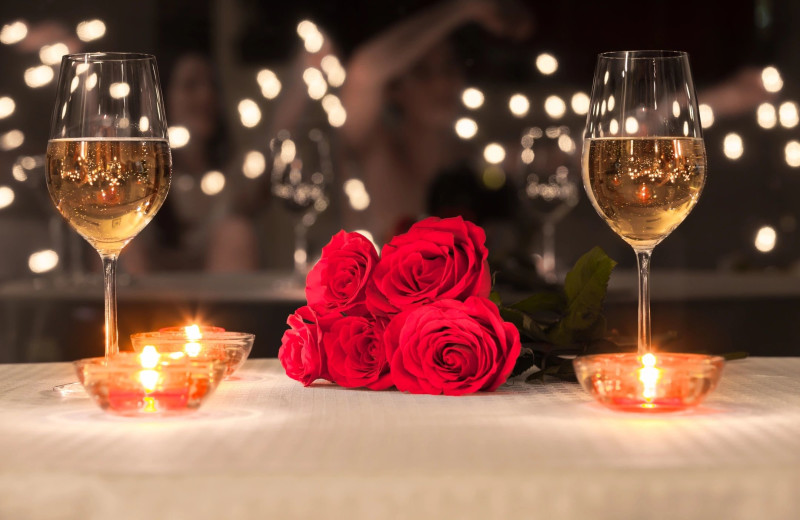 Romance packages at Holiday Inn Minneapolis NW Elk River & Wild Woods Waterpark.
