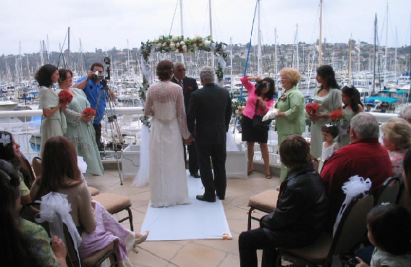 Weddings at Bay Club Hotel.
