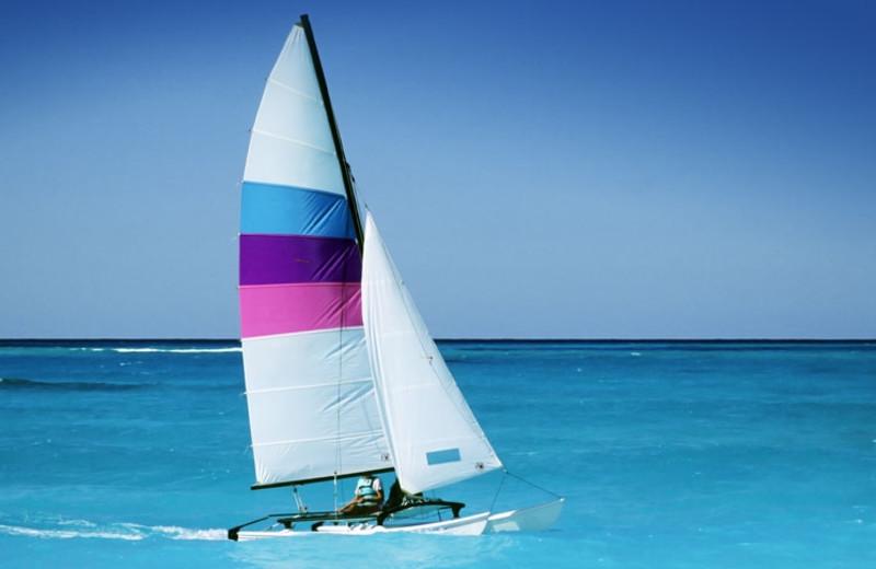 Sailing at Crowne Plaza Key West La Concha.