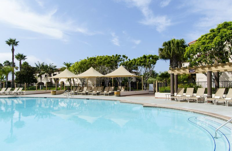 Outdoor pool at Fess Parker's Doubletree Resort.