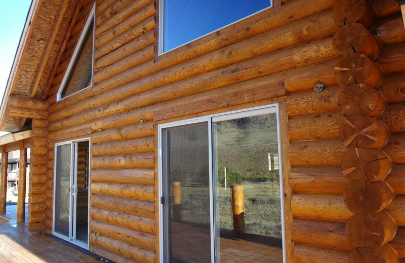 Cabin exterior at Madison Management.