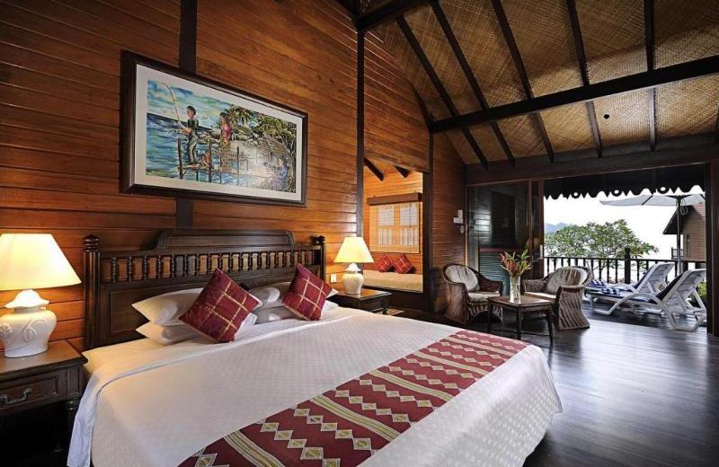 Guest room at Pangkor Island Beach Resort.