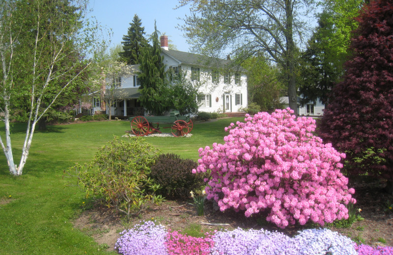 Exterior view of Azalea House B & B.