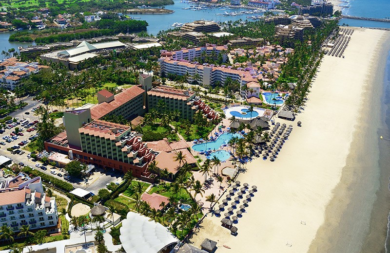 Aerial view of Royal Club Grand Nuevo Vallarta All Inclusive Resort.