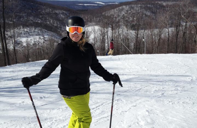 Skiing at Wisp Resort