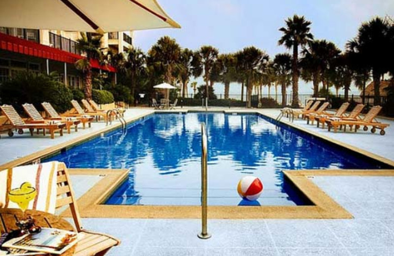 Outdoor Pool at  Charleston Harbor Resort