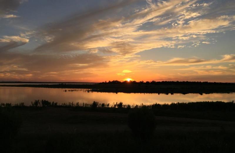 Lake view at Big Chief RV Resort.