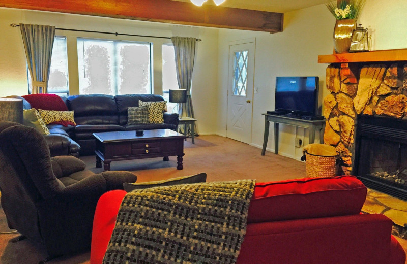 Guest living room at Kapilana Resort.