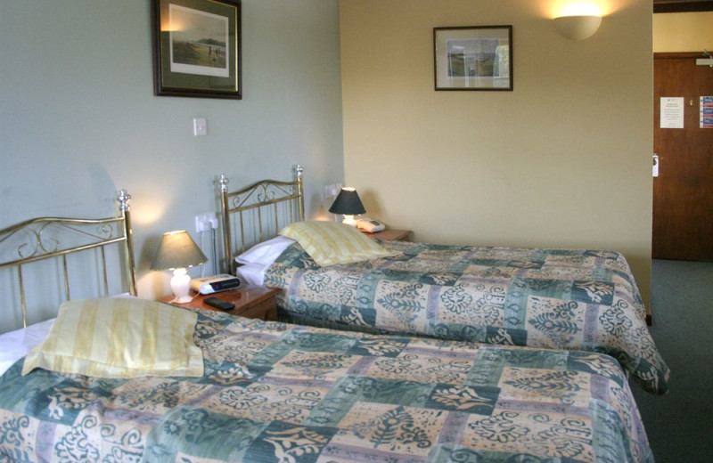 Guest room at Lostwithiel Golf Hotel & Country Club.