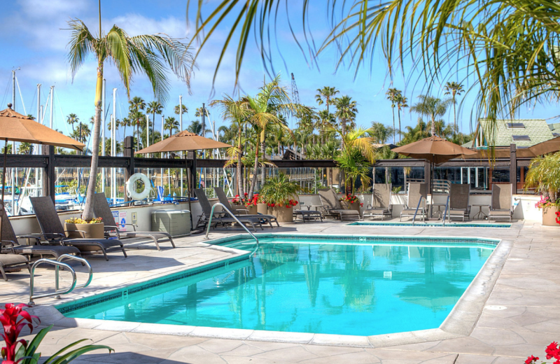 Outdoor pool at Bay Club Hotel & Marina.