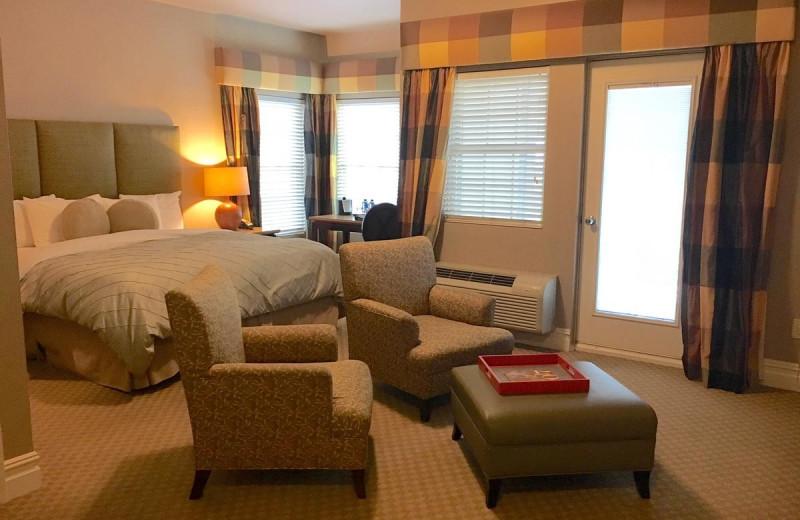 Guest room at Blue Bay Inn.