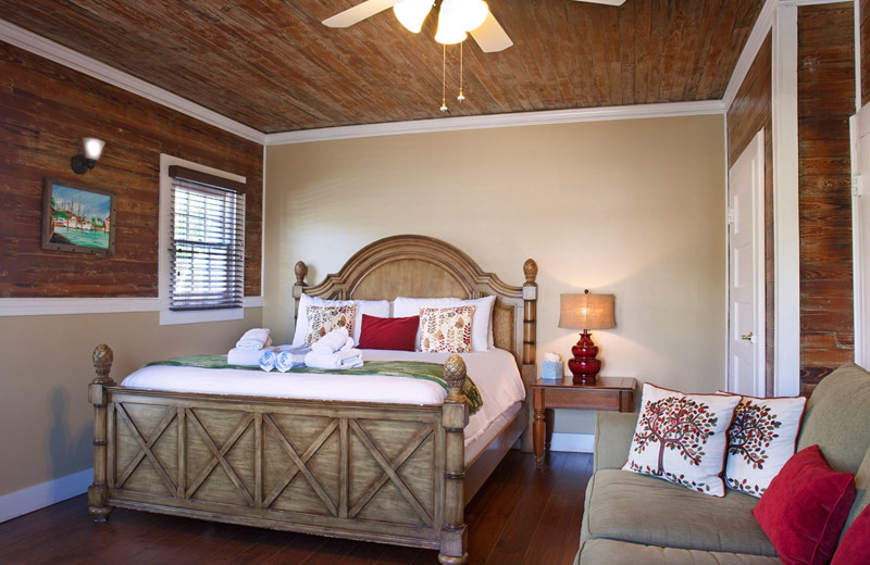 Guest room at The Inn on Fleming.