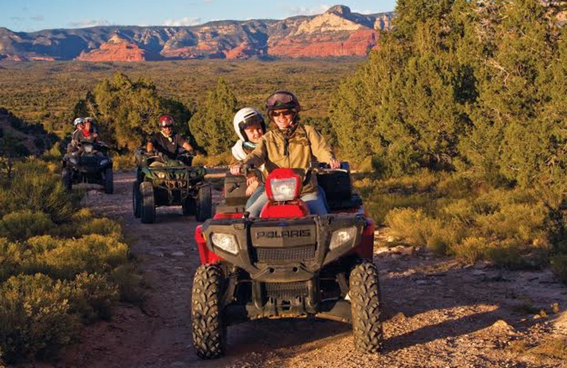 ATV at Inn of Sedona.