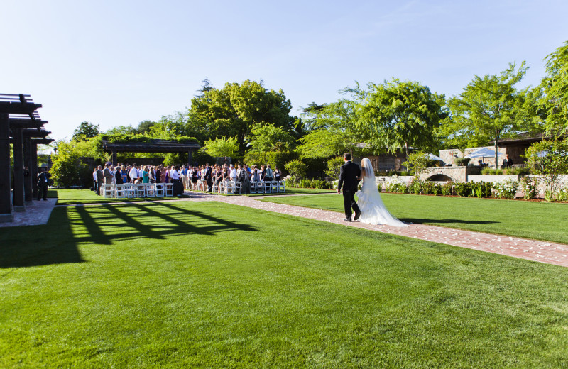 Wedding at Villagio Inn and Spa.