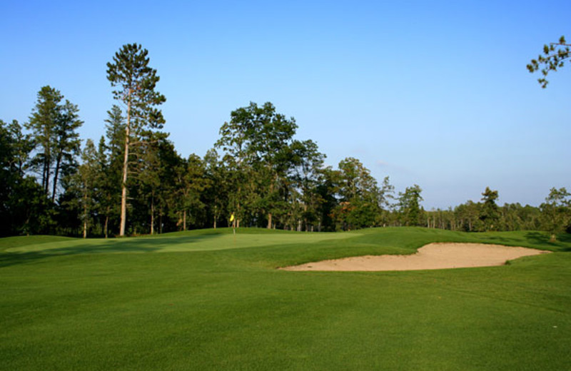 Golf course at Timberlane Resort.