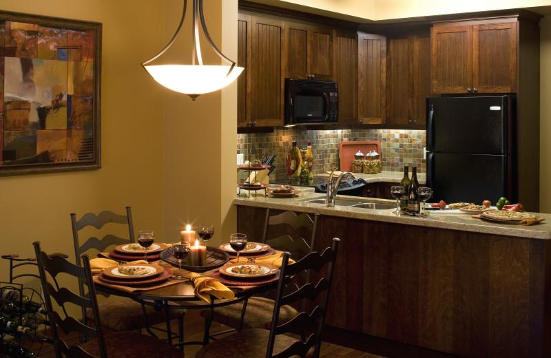 Full kitchen at Lake Okanagan Resort