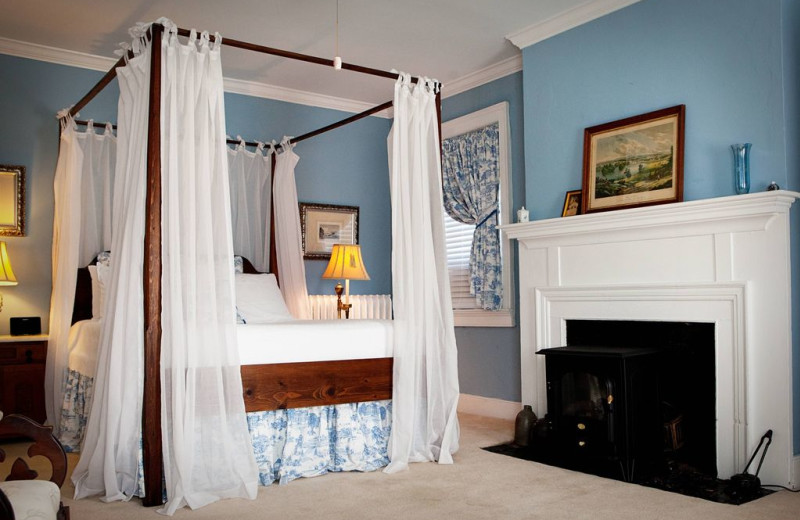 Guest room at Holladay House Bed & Breakfast.