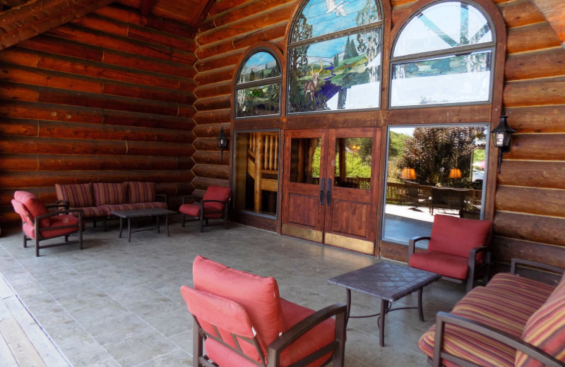 Lounge at Garland Lodge and Resort.