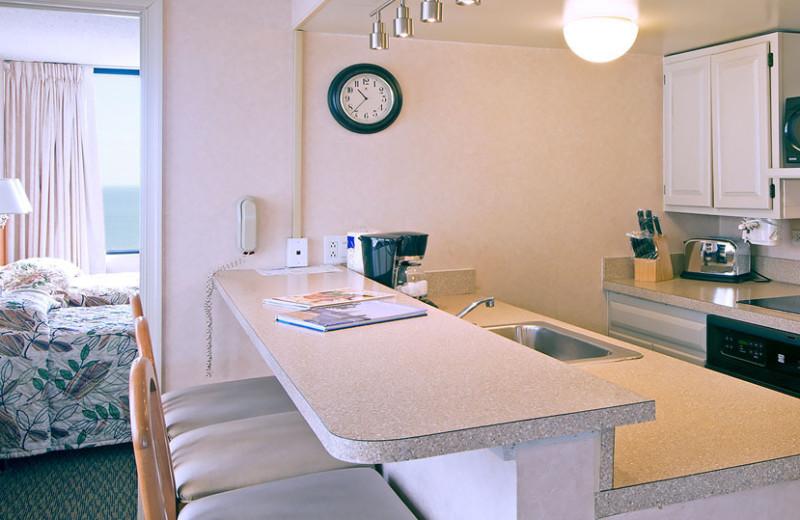 Guest kitchen at Four Sails Resort.