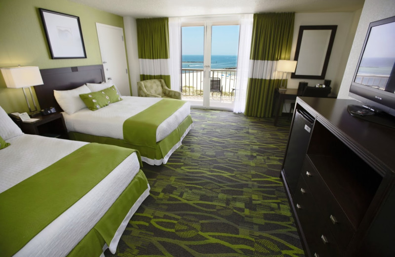 Guest room at Perdido Beach Resort.