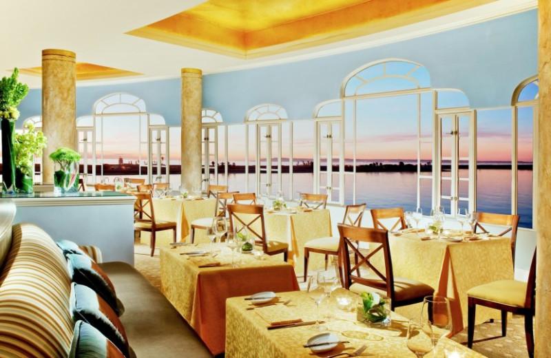Dining at Loews Coronado Bay Resort.