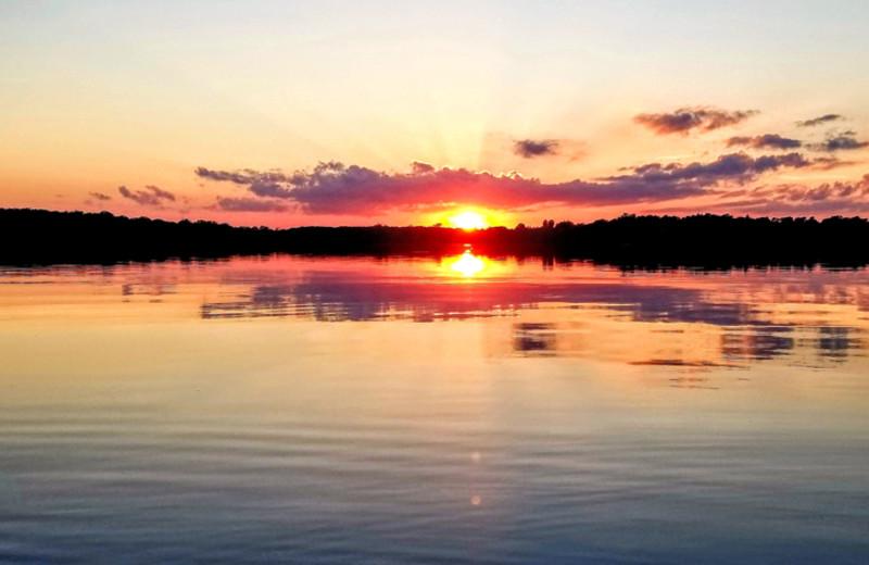 Lake at Oak Park Resort.