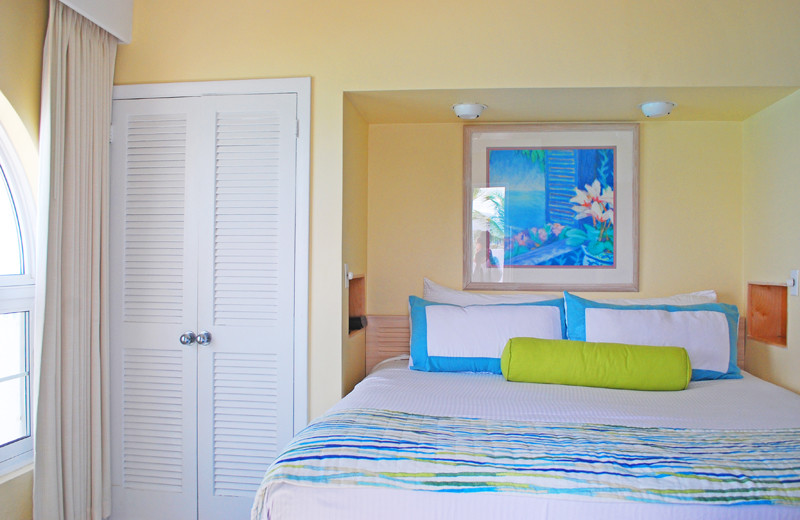 Guest bedroom at Paradise Island Beach Club.