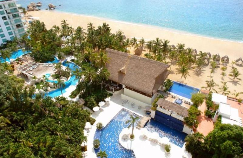 Outdoor pool at Hotel Continental Emporio Acapulco.