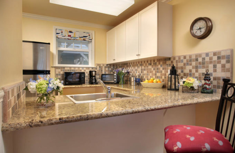 Kitchen in Suite at Avila Lighthouse Suites