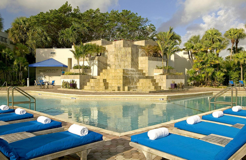 Outdoor pool at The Westin Fort Lauderdale.