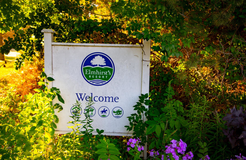 Welcome to Elmhirst's Resort.