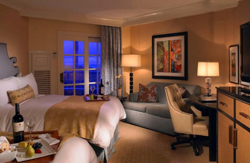 Guest room at Laguna Cliffs Marriott Resort & Spa.