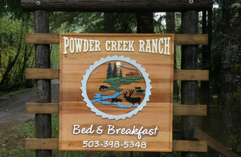Welcome to Powder Creek Ranch.