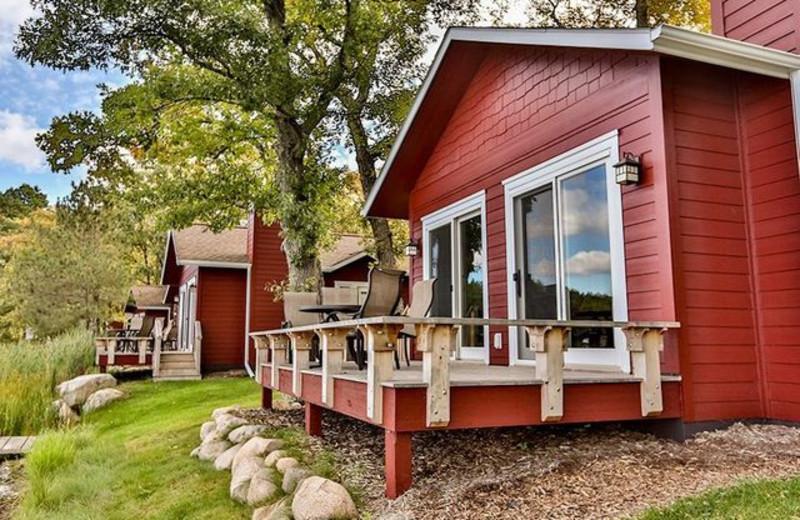 Cabins at Grand View Lodge.