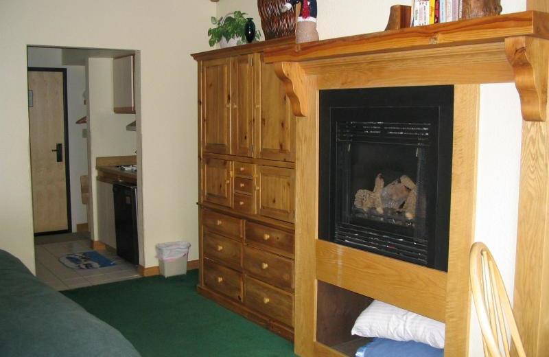 Condo guest room at Lori's Luxury Rentals.
