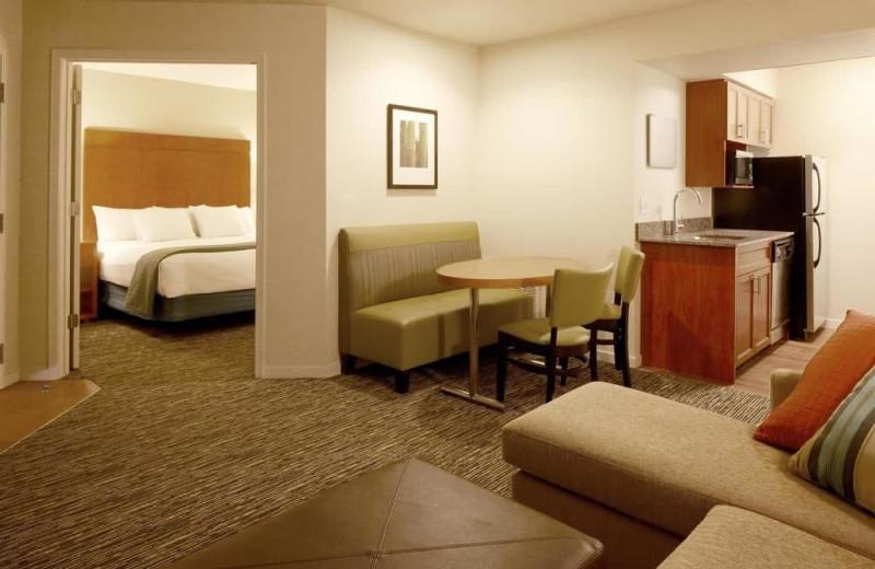 Guest room at Hyatt Summerfield Suites Scottsdale/Old Town.