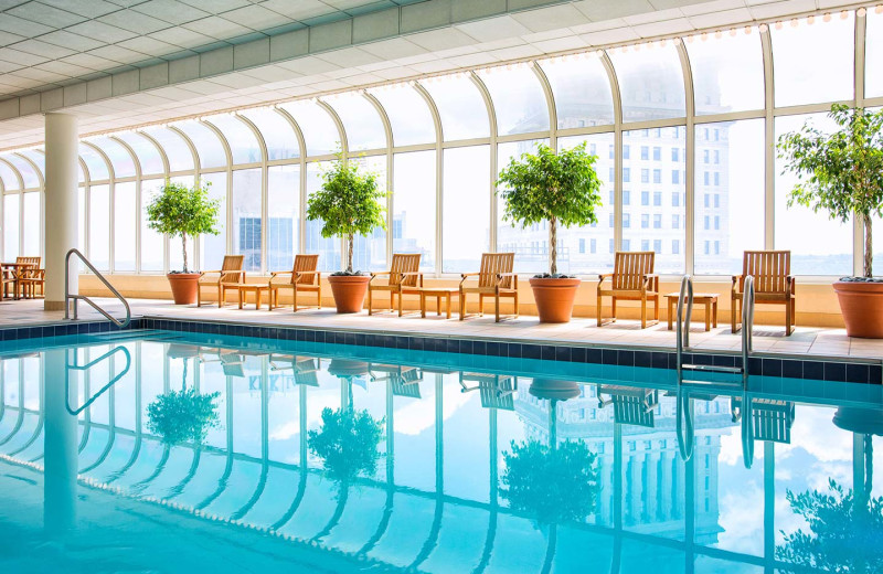 Indoor pool at The Westin Cincinnati.