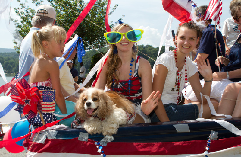 Fourth of July festivities at Lake Junaluska Conference and Retreat Center feature a parade, live music and fireworks.