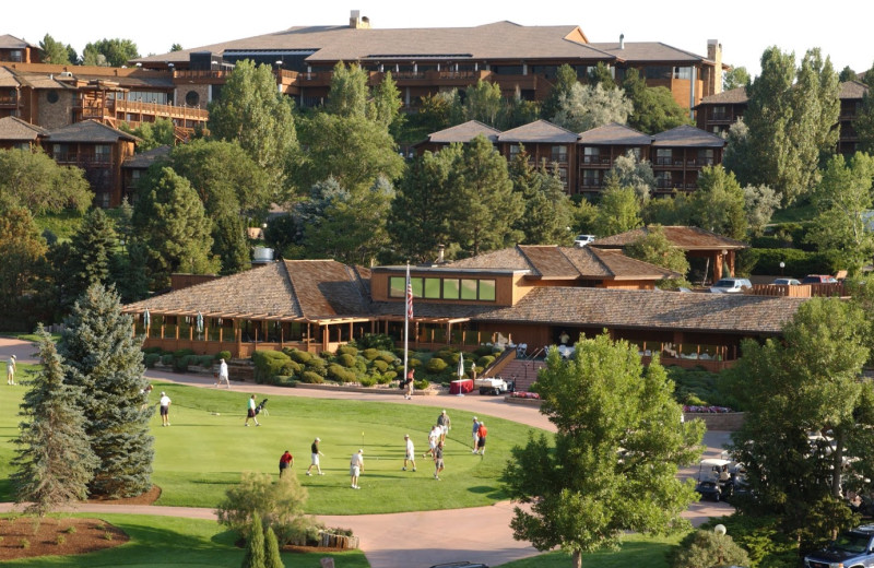 Golf at Cheyenne Mountain Resort.