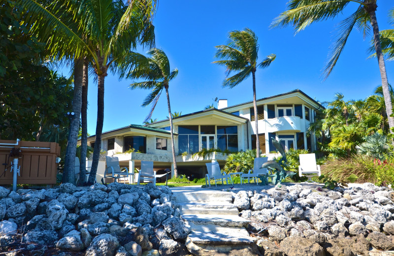 Rental exterior at Key West Vacation Rentals.