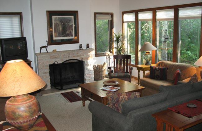 Interior view of Park City Lodging.